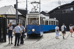 Historic tram stock photos