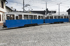 Historic tram royalty free stock image