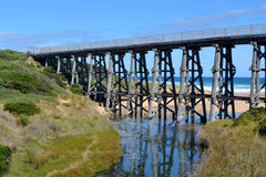 Rail Bridge royalty free stock photos