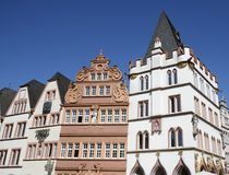 Historic Trier. Historic house facades in Trier (Rhineland-Palatinate, Germany Stock Photography