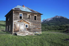 Historic True Grit Cabin, Hastings Mesa, near Ridgway, Colorado, USA Royalty Free Stock Photo