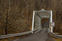 Historic Truss Bridge - Fredericktown, Ohio Royalty Free Stock Image