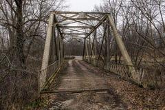 Historic Truss Bridge - Ohio Royalty Free Stock Photos