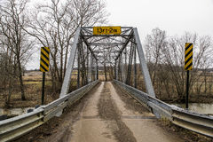 Historic Truss Bridge - Ohio Royalty Free Stock Images