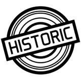Historic typographic stamp stock illustration