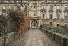 Historic university building Royalty Free Stock Images