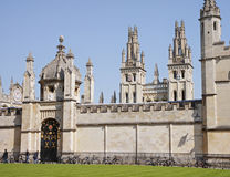 Historic University Buildings in Oxford, UK Stock Image