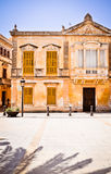 Historic upper-class palace in Ciutadella, Minorca Royalty Free Stock Image