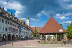 The historic Upper marketplace in Freudenstadt Royalty Free Stock Image