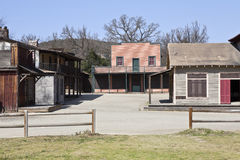 Historic US National Park Owned Ghost Town Stock Image