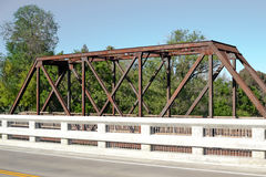 Historic  Vaca Valley Railroad Bridge Royalty Free Stock Images