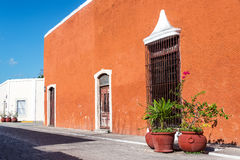 Historic Valladolid, Mexico Stock Photo