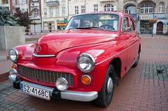 Historic Vehicle Parade. In Bytom Royalty Free Stock Photo