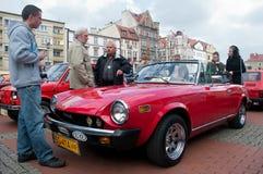 Historic Vehicle Parade. In Bytom Royalty Free Stock Photos