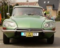 Historic vehicles. Meeting historic vehicles - Málkov , Czech Republic , April 25, 2015 . Writer habitat at the race circuit Stock Photo