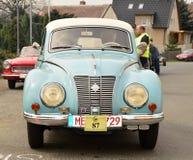 Historic vehicles. Meeting historic vehicles - Málkov , Czech Republic , April 25, 2015 . Writer habitat at the race circuit Stock Images