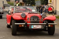 Historic vehicles. Meeting historic vehicles - Málkov , Czech Republic , April 25, 2015 . Writer habitat at the race circuit Royalty Free Stock Photos