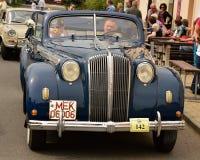 Historic vehicles. Meeting historic vehicles - Málkov , Czech Republic , April 25, 2015 . Writer habitat at the race circuit Stock Image