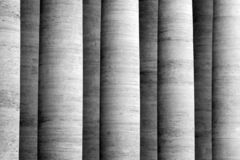 Historic Vertical Marble Columns As Black And White Background Royalty Free Stock Photo