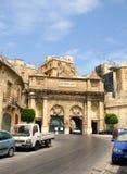 Historic Victoria gate in Valletta, Malta. The Victoria Gate in La Valletta, the capital of Malta Royalty Free Stock Image