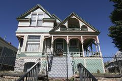 Historic Victorian Home Royalty Free Stock Photography