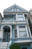 Historic Victorian Home in San Francisco Stock Photography