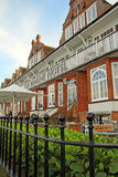 Historic victorian marine hotel Royalty Free Stock Images