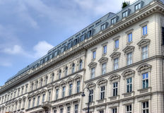 Historic Viennese architecture. Exterior of historic Viennese building, Austria Stock Photography