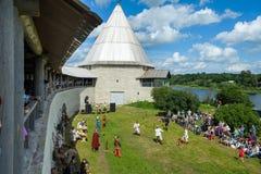 Historic viking festival Stock Photos