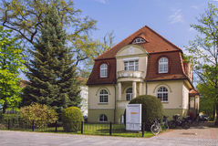 Historic Villa near the city center Stock Images