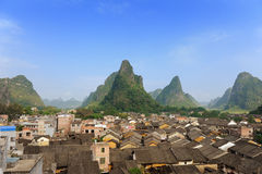 Historic village Royalty Free Stock Images