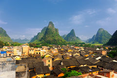 Historic village. A place of historic interest royalty free stock image
