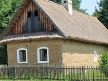 Historic village construction. Community Strážnice , South Moravia . Czech Republic stock photo