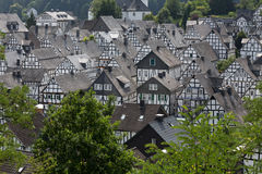 Historic village freudenberg germany Stock Photo
