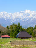 Historic village in Hakuba, Nagano, Japan Royalty Free Stock Photography