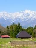 Historic village in Hakuba, Nagano, Japan Royalty Free Stock Photography