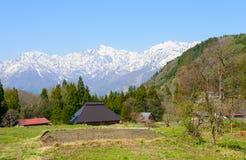 Historic village in Hakuba, Nagano, Japan Stock Photography