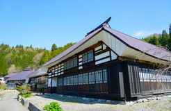 Historic village in Hakuba, Nagano, Japan Stock Photo