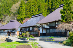 Historic village in Hakuba, Nagano, Japan Royalty Free Stock Image