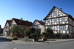 Historic Village Herleshausen Germany Royalty Free Stock Photography