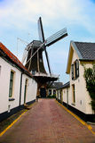 Historic village in Netherlands Royalty Free Stock Photos