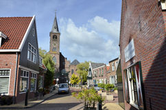 Historic village in Netherlands Royalty Free Stock Photography