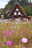 Historic village Shirakawa-go Royalty Free Stock Image