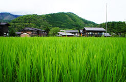 Historic village of Shirakawa-go, Gifu prefecture Stock Photos