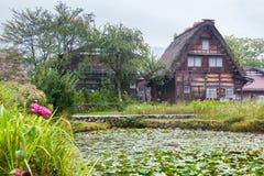 Historic Village of Shirakawa-go Royalty Free Stock Photo