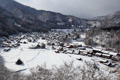 Historic Village of Shirakawago Stock Image