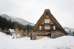 Historic Village of Shirakawago, Gifu, Japan Stock Photo