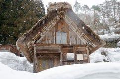 Historic Village of Shirakawago, Gifu, Japan Royalty Free Stock Images