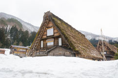 Historic Village of Shirakawago, Gifu, Japan Royalty Free Stock Photography