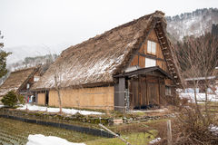 Historic Village of Shirakawago, Gifu, Japan Royalty Free Stock Photos